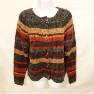 Dress Barn Sweaters - Dress Barn Chunky Cardigan Sweater - Size M